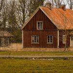 Ödehus på den svenska landsbygden